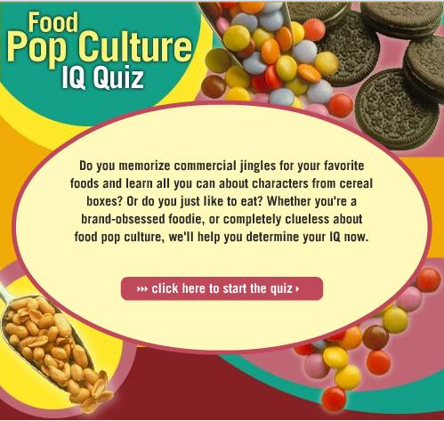 Food Pop Culture Quiz