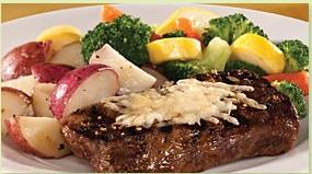 Asiago Peppercorn Steak Applebees