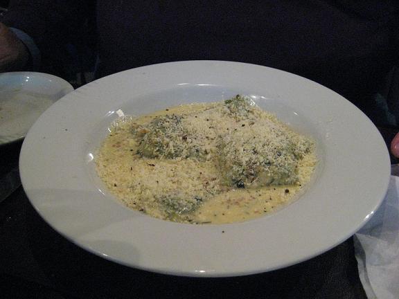 Spinach-Gruyere Ravioli